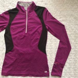 New Balance Purple Workout Pullover Size XS